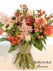 """Букет невесты в розовых тонах """"Счастье"""""""
